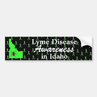 Lyme Disease Awareness in Idaho Bumper Sticker