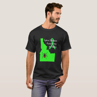 Lyme Disease Awareness in Idaho Tick Shirt