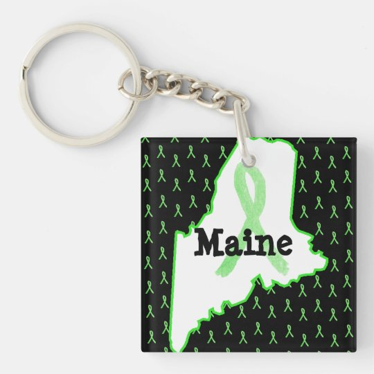 Lyme Disease Awareness in Maine Key Chain