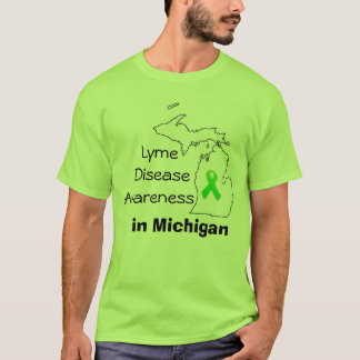 Lyme Disease Awareness in Michigan T-Shirt