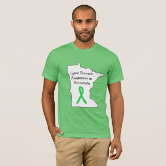 Lyme Disease Awareness in Minnesota T-Shirt