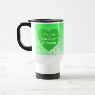 Lyme Disease Awareness in Missouri Coffee Cup