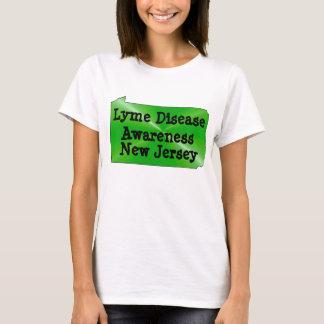 Lyme Disease Awareness in  New Jersey T-Shirt