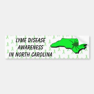 Lyme Disease Awareness in North Carolina Bumper Bumper Sticker