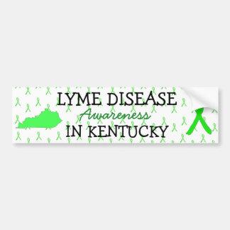 Lyme Disease Awareness Kentucky Bumper Stickers