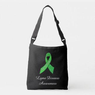 "Lyme Disease Awareness Ribbon ""Be Strong"" Tote"