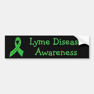 Lyme Disease Awareness Ribbon Bumper Sticker