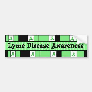 Lyme Disease Awareness Ribbons Bumper Sticker