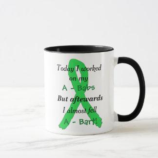 Lyme Disease Awareness Ribbons Funny Mug
