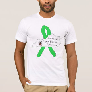 Lyme Disease Awareness Shirt for Kentucky