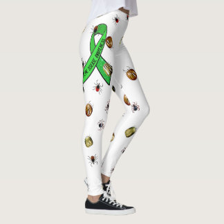 Lyme Disease Awareness Ticks Leggings