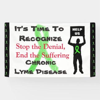 Lyme Disease Awareness We Wont Give Up Banner