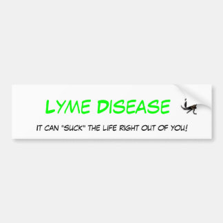 Lyme Disease Bumper Sticker