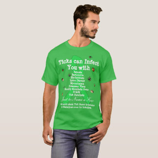 Lyme Disease & Co Infections Awareness Shirt