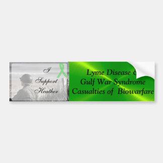 Lyme Disease Gulf War Syndrome, Biowarfare Bumper Bumper Sticker