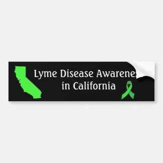 Lyme Disease  in California Bumper Sticker