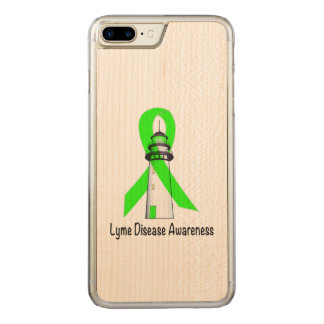 Lyme Disease Lighthouse of Hope Carved iPhone 7 Plus Case