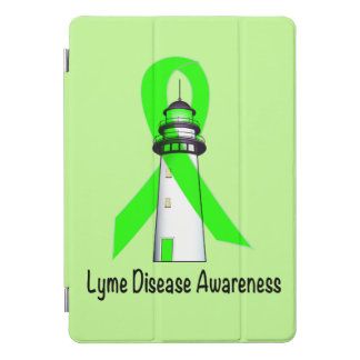 Lyme Disease Lighthouse of Hope iPad Pro Cover
