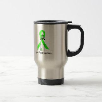 Lyme Disease Lighthouse of Hope Travel Mug