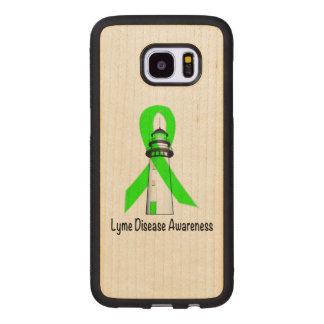 Lyme Disease Lighthouse of Hope Wood Samsung Galaxy S7 Edge Case