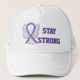 Lyme Disease, Pain, Lupus Awareness Ribbon Hats