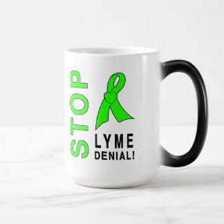 Lyme Disease: Stop Lyme Denial! Magic Mug