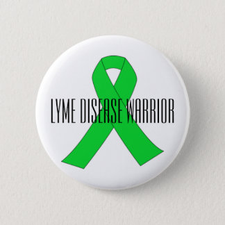 Lyme Disease Warrior Pin