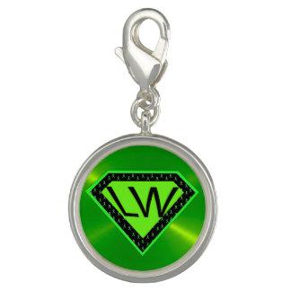 Lyme Disease Warrior Superhero Charm