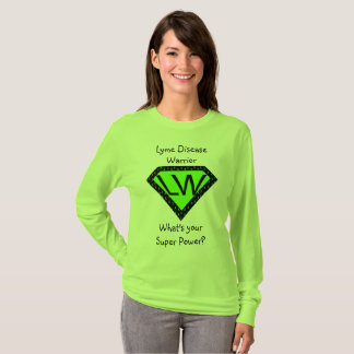Lyme Disease Warrior Superhero Shirt