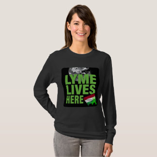 Lyme Livers Here in Hungary T-Shirt