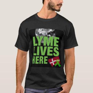 Lyme Lives Here in Denmark Shirt
