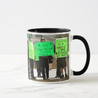 Lyme Lives Here Lyme Disease Awareness Cup