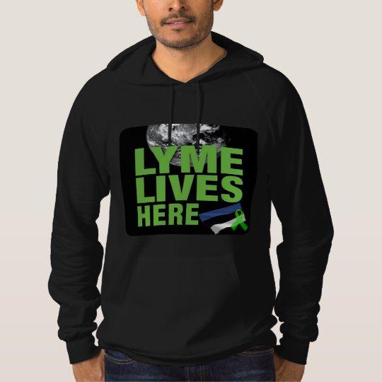 Lyme Lives Here Norway Hoodie