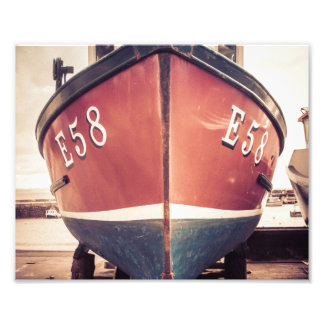 Lyme Regis fishing boat Photo Print