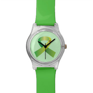 Lyme Ribbon with Tick Watch