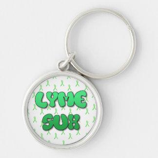 Lyme Sux Key Chain