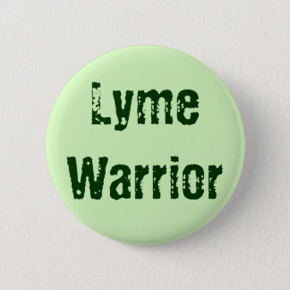 Lyme Warrior 2 Inch Round Button
