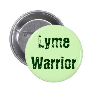 Lyme Warrior 2 Inch Round Button