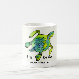 Lyme Warrior Sea Turtle Mug