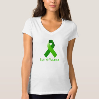 Lyme Warrior V Neck Tshirt