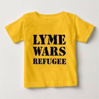 Lyme Wars Refugee Baby T-Shirt