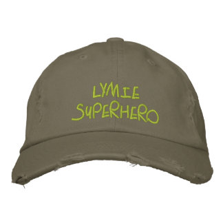 Lymie Superhero Embroidered Hat