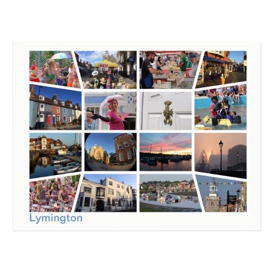 Lymington multi-image 2 postcard