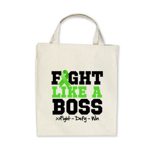 Lymphoma Fight Like a Boss Tote Bag