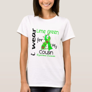 Lymphoma I Wear Lime Green For My Cousin 37COUSIN T-Shirt