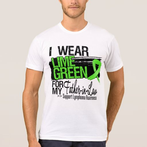Lymphoma Ribbon For My Father-in-Law T Shirt
