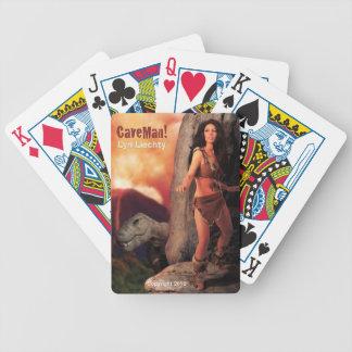 Lyn Liechty CaveMan! Playing Cards