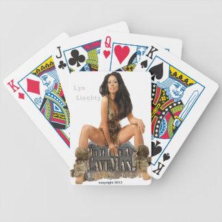 Lyn Liechty CaveMan Playing Cards