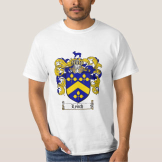 Lynch Family Crest - Lynch Coat of Arms T-Shirt