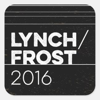 LYNCH/FROST 2016 square Square Sticker